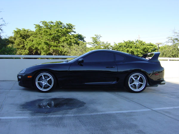 Is 20 tint too dark on a supra for 20 window tint at night